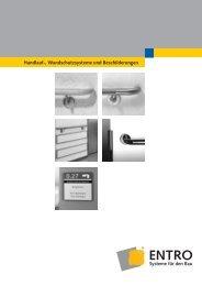 Beschilderungssystem HEWI comment - Entro Systeme Für Den Bau