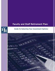 Your Duke 403(b) Retirement Plan: - Duke Human Resources ...