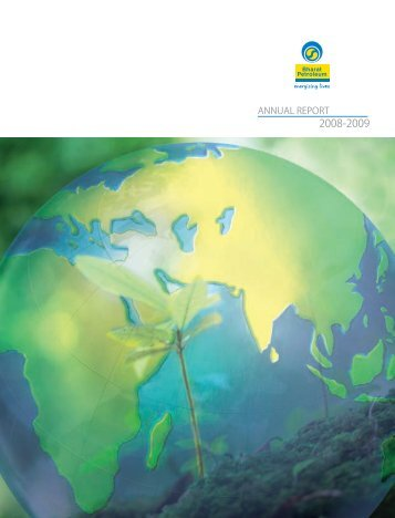 Annual Report 2008-2009 - Bharat Petroleum