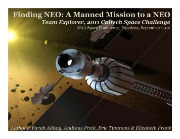 Finding NEO - Keck Institute for Space Studies - Caltech