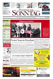 Neuer Stau in Potsdam - Potsdamer Neueste Nachrichten