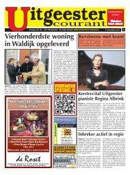 Vierhonderdste woning in Waldijk opgeleverd - De Castricummer
