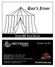 October 30, 2011 - First Friends Church