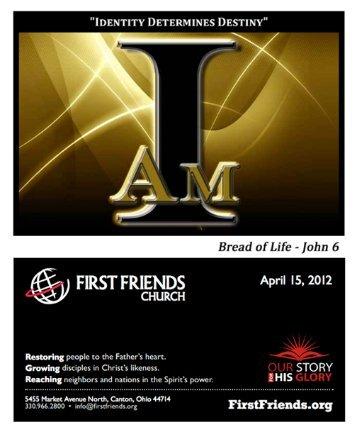 April 15, 2012 - First Friends Church