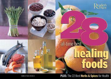Healing Foods - Reader's Digest