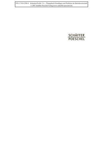New Title - Schäffer-Poeschel Verlag GmbH