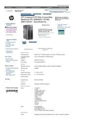 HP Compaq 6000 Pro Microtower PC     - Added Dimension