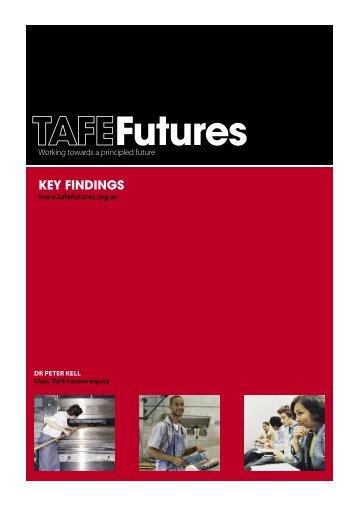TAFE Futures inquiry - Australian Education Union