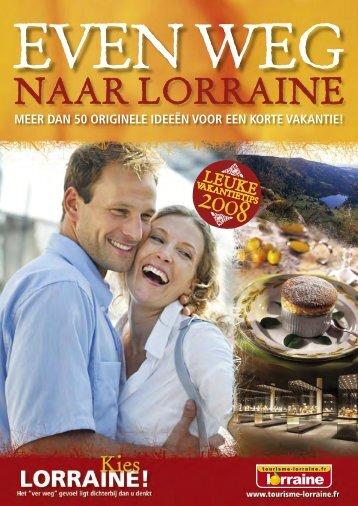 CRTL Echap.belles-NL 01>17.indd - Tourisme en Lorraine