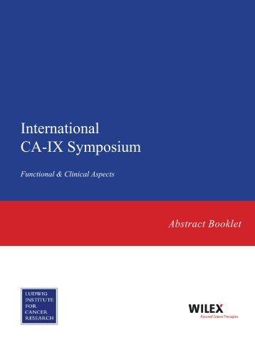 International CA-IX Symposium