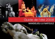 Guide de l'été 2008 - Mandelieu La Napoule
