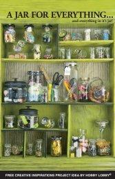 A JAR FOR EVERYTHING... - Hobby Lobby
