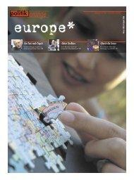 europa ist tot – es lebe europa »Durch die Linse ... - Politikorange.de