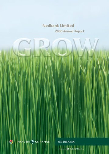 2006 Annual report - Nedbank Group Limited