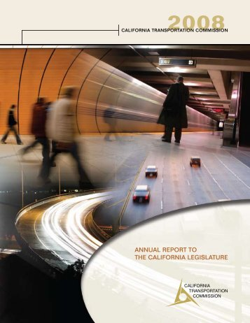 2008 Annual Report to the California Legislature