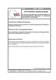 VATh-Richtlinie: Bauthermografie (PDF)