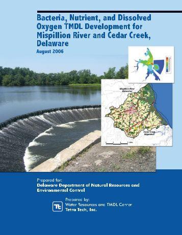 Mispillion River and Cedar Creek TMDL Report - Delaware ...