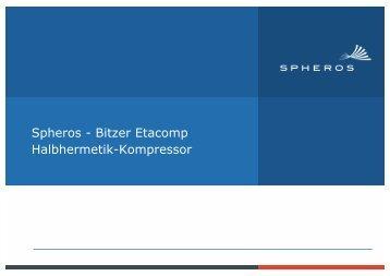 Spheros - Bitzer Etacomp Halbhermetik-Kompressor