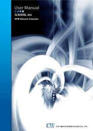 EFM User Manual - CTC Union Technologies Co.,Ltd.