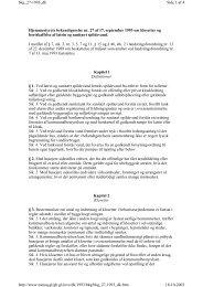 Hjemmestyrets bekendtgørelse nr. 27 af 17. september ... - Byginfo