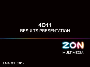 FY11 Results Presentation - Zon