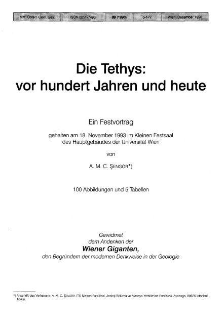 Foe Karte Der Kontinente Jhw.Die Tethys Vor Hundert Jahren Und Heute