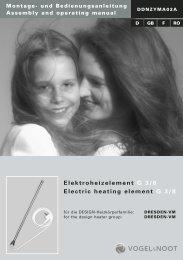 PTC-Heizelement DRESDEN - Vogelundnoot.com