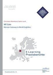 Praxisbericht 73 - ERCIS - European Research Center for ...