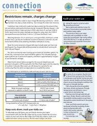 connection - Colorado Springs Utilities