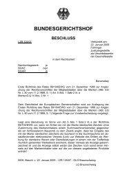 I ZR 125/07 - Markenrecht