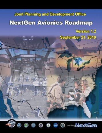 NextGen Avionics Roadmap - Joint Planning and Development Office