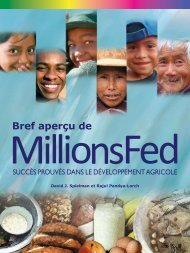 Bref aperçu de - International Food Policy Research Institute
