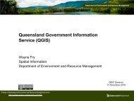 Queensland Government Information Service (QGIS) - Data Smart ...