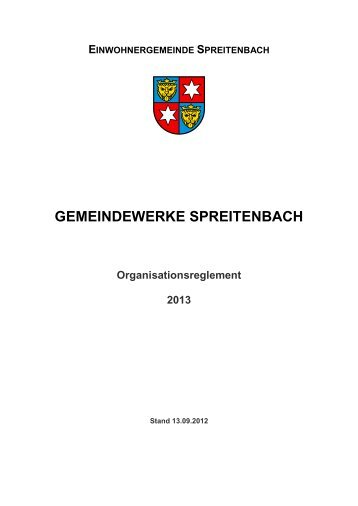 255 KB - Gemeinde Spreitenbach