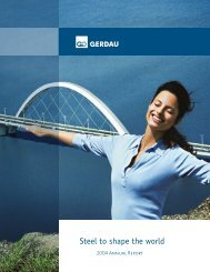 2004 Gerdau Annual Report