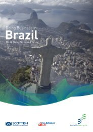 Doing business in Brazil: Oil and gas subsea focus - Scottish ...