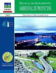Manual de Seguimiento Ambiental de Proyectos - Ministerio de ...