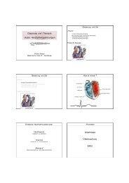 1. Herzrhythmusstörungen - FINeST
