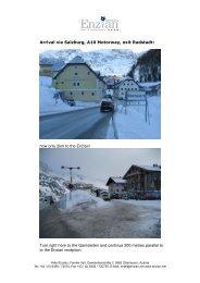 Print route descriptiont - Hotel Enzian