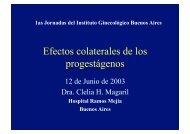 Efectos colaterales de los progestágenos - IGBA