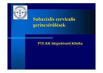 letöltése - PTE KK Neurológiai Klinika