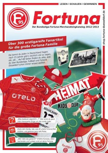 Online Katalog - Offizieller Fanshop von Fortuna Düsseldorf