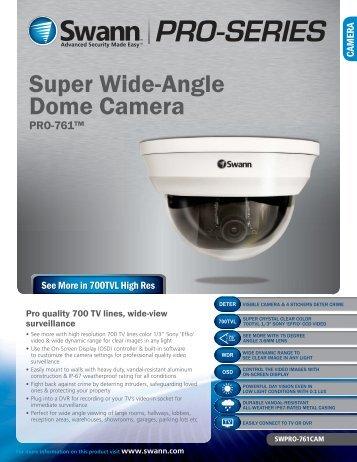 Super Wide-Angle Dome Camera - Home Depot