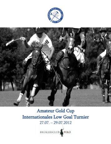 Amateur Gold Cup Internationales Low Goal ... - bei polowelt.com