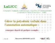slides - LaLIC
