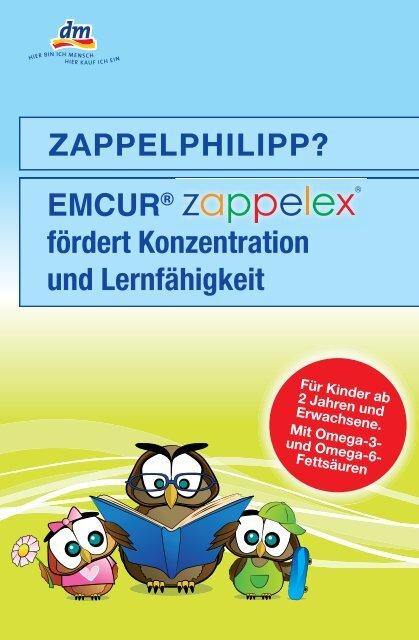 Zappelphilipp Emcur Fördert Konzentration Und Lernfähigkeit
