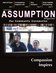 Spring 2010 - Assumption High School