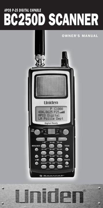 uniden bc60xlt 1 manual textfiles com rh yumpu com Uniden Bearcat Scanner Programming Program Uniden Bearcat Scanner Frequency