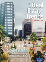 Real Estate Trends2010 - New Orleans City Business