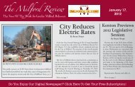 City Reduces Electric Rates - Milford LIVE!